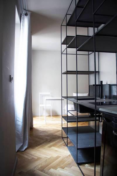 Location meublée studio 23m² Paris 19E - 860€