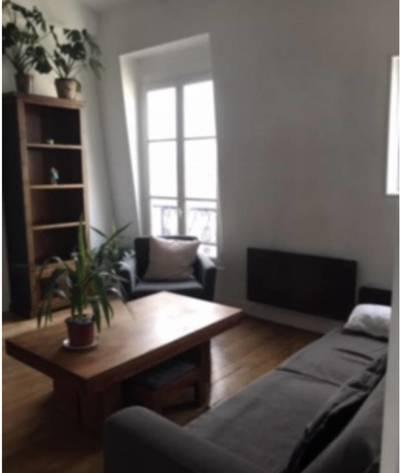 Location meublée appartement 2pièces 38m² Paris 4E - 1.410€