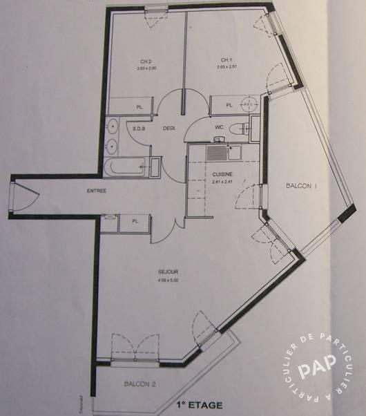 location appartement 3 pi ces 64 m br tigny sur orge 64 m 942 de particulier. Black Bedroom Furniture Sets. Home Design Ideas
