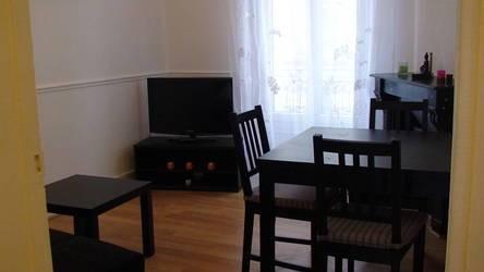 Location meublée appartement 3pièces 38m² Clichy (92110) - 1.145€