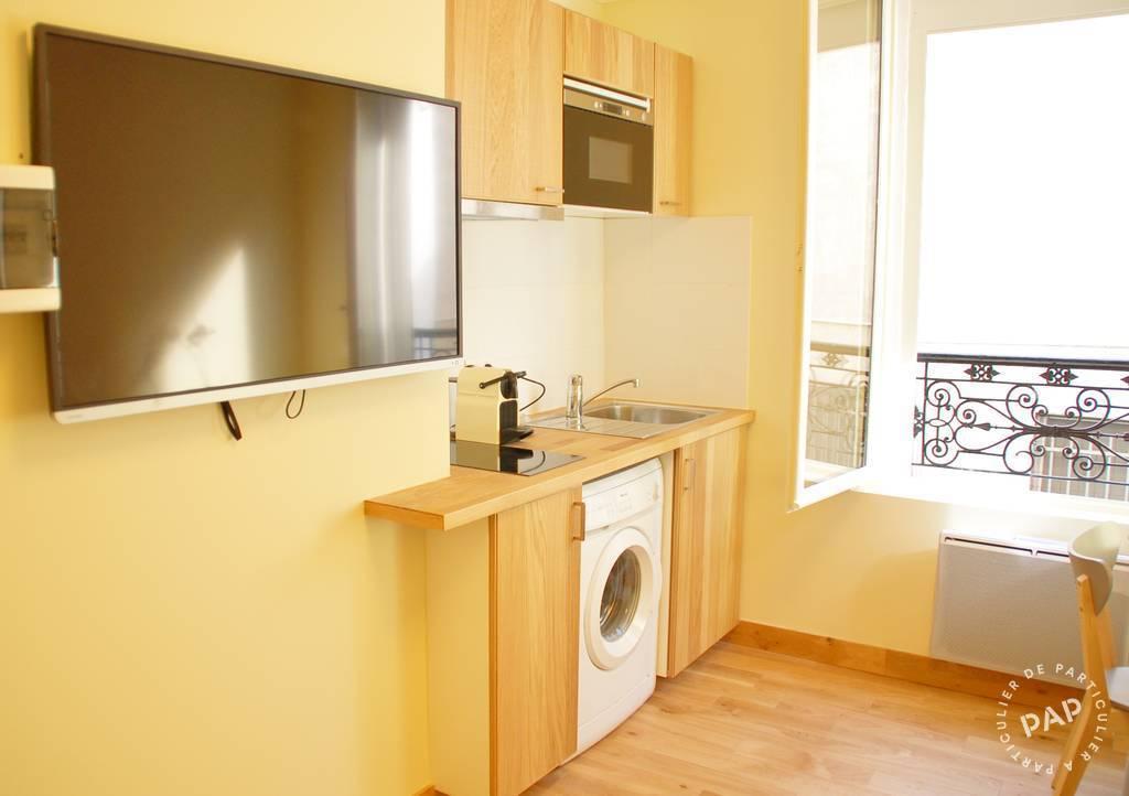Location meublée appartement 2 pièces 25 m² Levallois ...