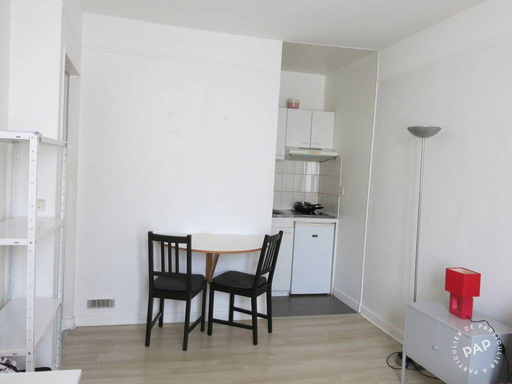 Location appartement studio Paris 11e