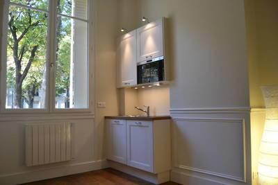 Location meublée studio 17m² Paris 14E - 740€