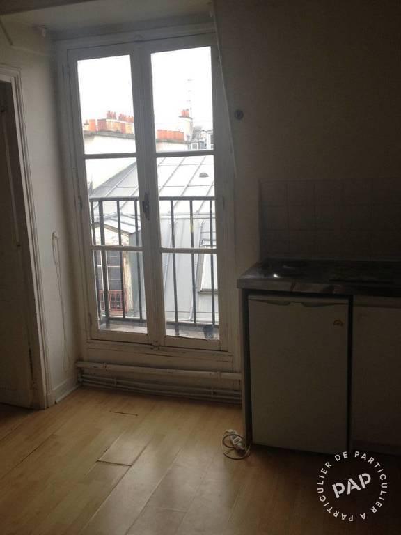 Location appartement 2 pièces 18 m² paris 600 €