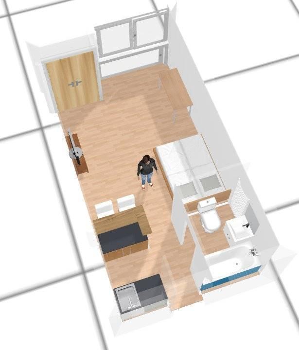 Location meubl e studio 27 m boulogne billancourt 92100 - Centre commercial porte de saint cloud ...