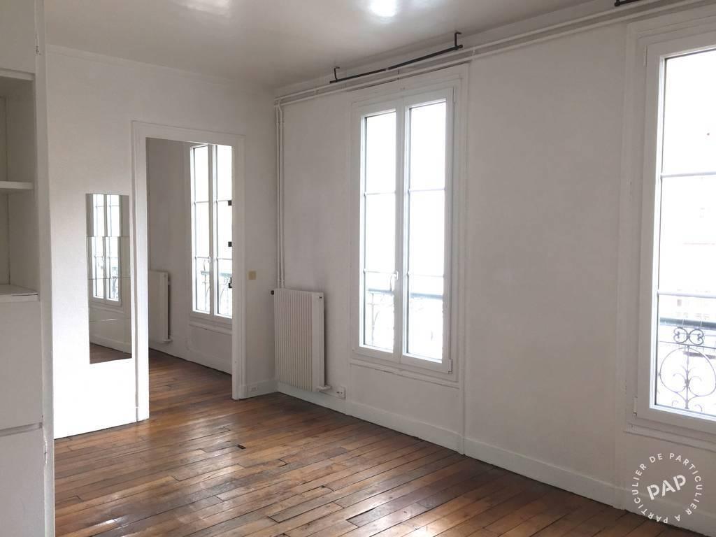 Location appartement 2 pi ces 35 m paris 35 m for Chambre de bonne a louer paris