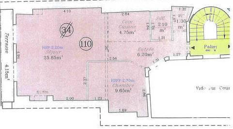 Immobilier Paris 3E 796.000€ 50m²