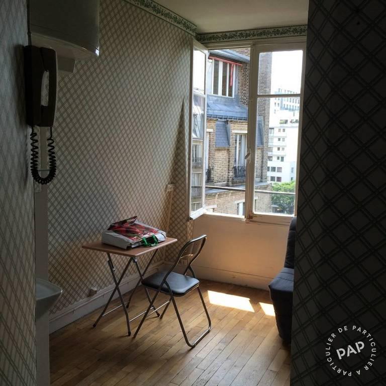 Location appartement studio Paris 16e