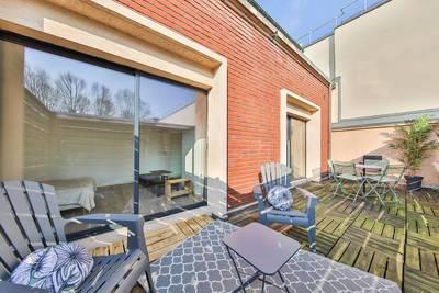 Location meublée appartement 2pièces 40m² Saint-Denis (93) - 790€