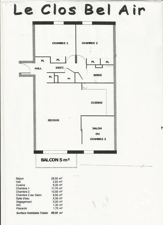 location appartement 4 pi ces 89 m rennes 89 m 825 euros de particulier particulier pap. Black Bedroom Furniture Sets. Home Design Ideas