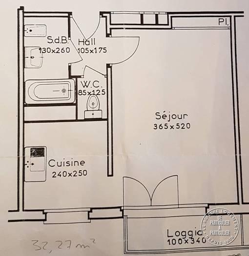 Appartement 395€ 32m² Rouen (76)