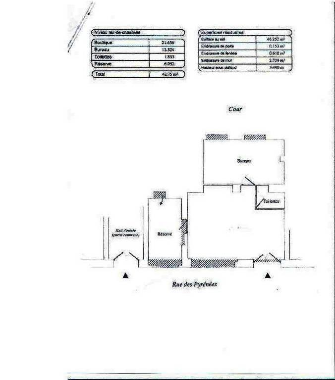 bureaux locaux professionnels 20e 43 m 178 1 180 e pap commerces