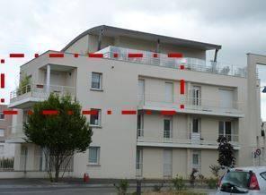 Location appartement 3pièces 68m² Tours (37) Vouvray