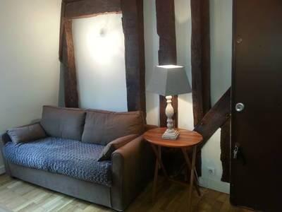 Location meublée appartement 2pièces 21m² Paris 1Er - 1.250€