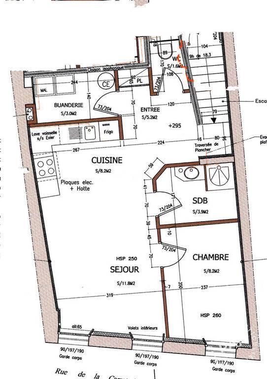 location appartement 2 pi ces 46 m avignon 46 m 520 e de particulier particulier pap. Black Bedroom Furniture Sets. Home Design Ideas
