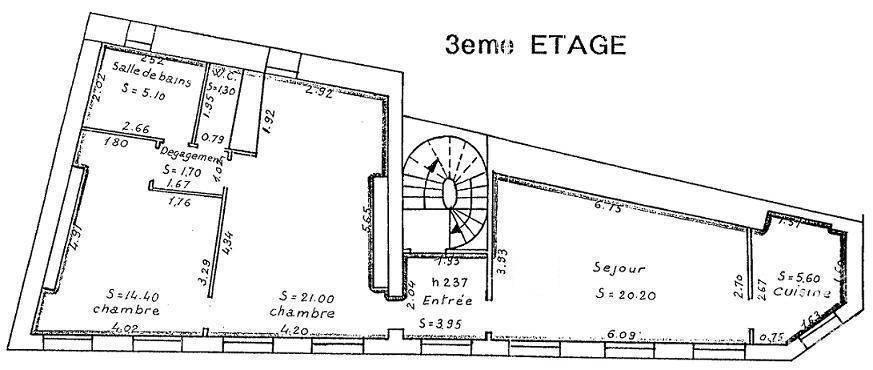 location meubl e appartement 3 pi ces 73 m rouen 73 m 950 euros de particulier. Black Bedroom Furniture Sets. Home Design Ideas