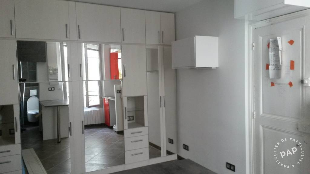 Location Paris 16 m²