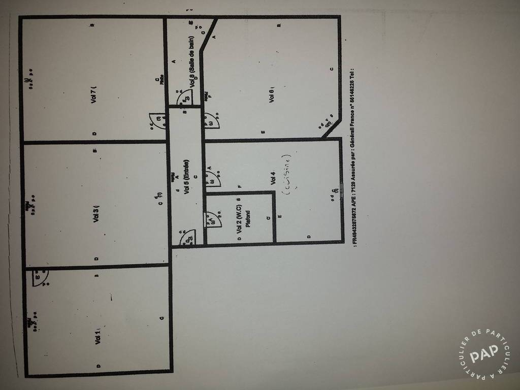 location appartement 4 pi ces 80 m saint mande 80 m euros de particulier. Black Bedroom Furniture Sets. Home Design Ideas