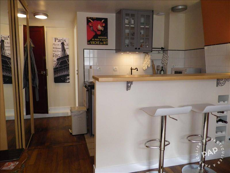 Location meubl e studio 17 m paris 17 m 750 euros for Location meuble paris 17 particulier