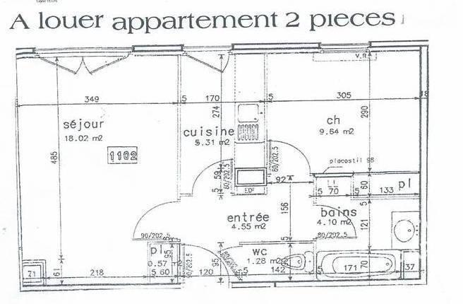 location meubl e appartement 2 pi ces 44 m rouen 76 44 m 560 e de particulier. Black Bedroom Furniture Sets. Home Design Ideas