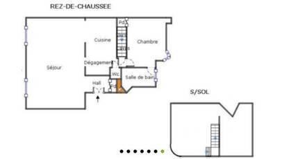 Vente appartement 2pièces 57m² Paris 14E - 570.000€
