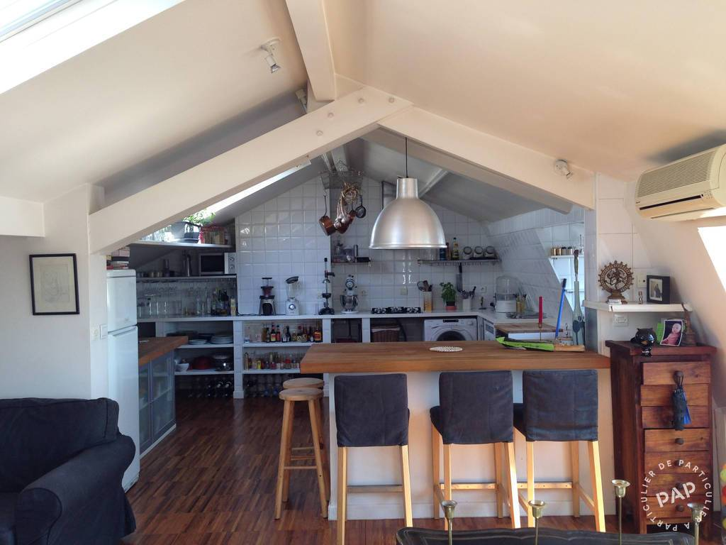 Location loft atelier 100 m clichy 92110 100 m 1 for Location atelier loft