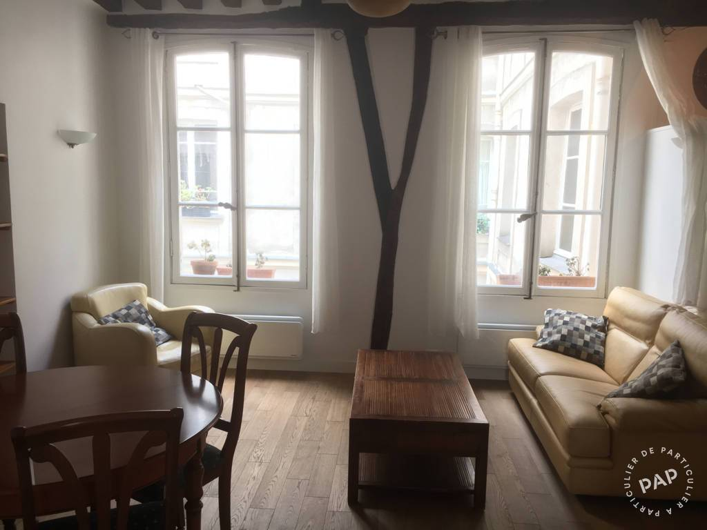 Location Appartement Paris 4E 65 m² 2.400 €