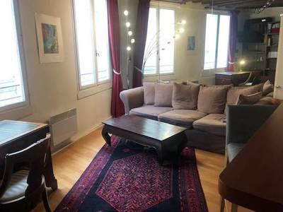 Location meublée appartement 2pièces 32m² Paris 1Er - 1.600€