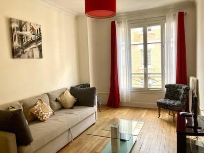 Location meubl�e appartement 2pi�ces 55m� Asnieres-Sur-Seine (92600) - 1.300€