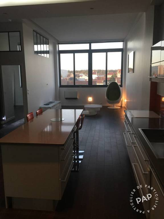 Location meubl e loft atelier 90 m maisons alfort 94700 for Location atelier loft