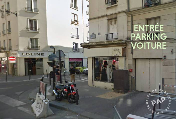 location garage parking paris 11e 130 e de particulier particulier pap. Black Bedroom Furniture Sets. Home Design Ideas