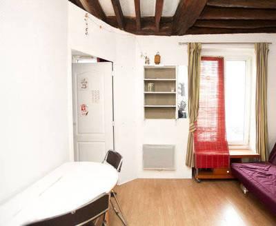 Location meublée appartement 2pièces 28m² Paris 18E - 950€