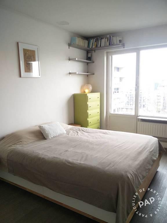 location meubl e appartement 3 pi ces 64 m paris 19e 64. Black Bedroom Furniture Sets. Home Design Ideas