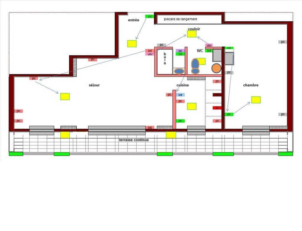 location appartement 2 pi ces 50 m asnieres sur seine 92600 50 m e de. Black Bedroom Furniture Sets. Home Design Ideas