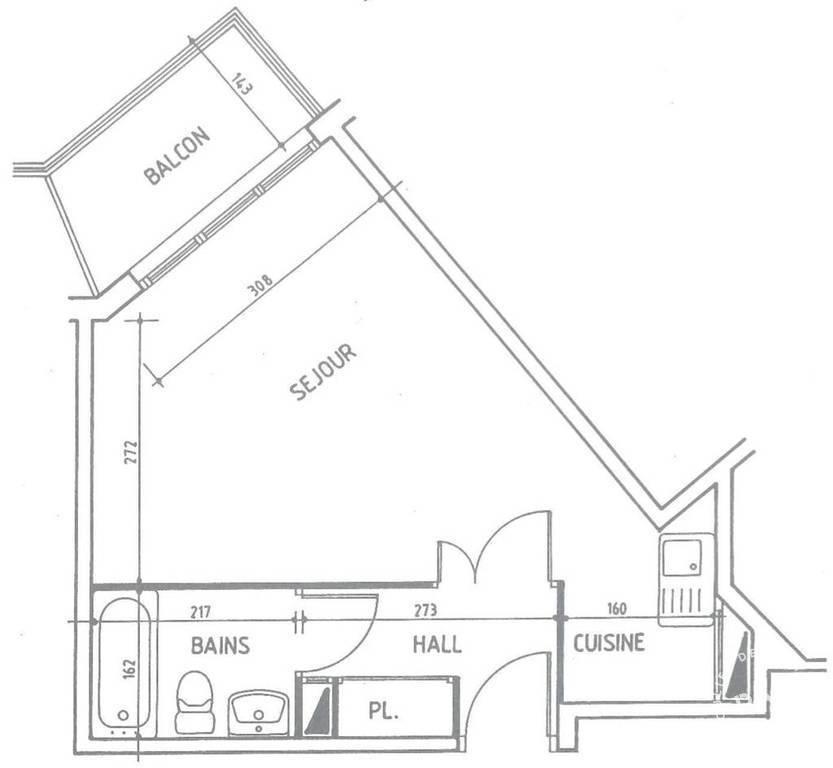 Appartement Boulogne-Billancourt (92100) 1.150€