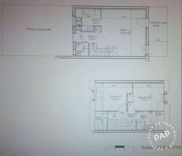 Location Appartement Villejust (91140) 63m² 1.100€