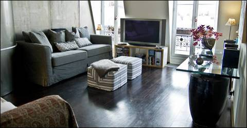 Location meubl�e loft, atelier 100 m� Paris 11E - 2.900 €