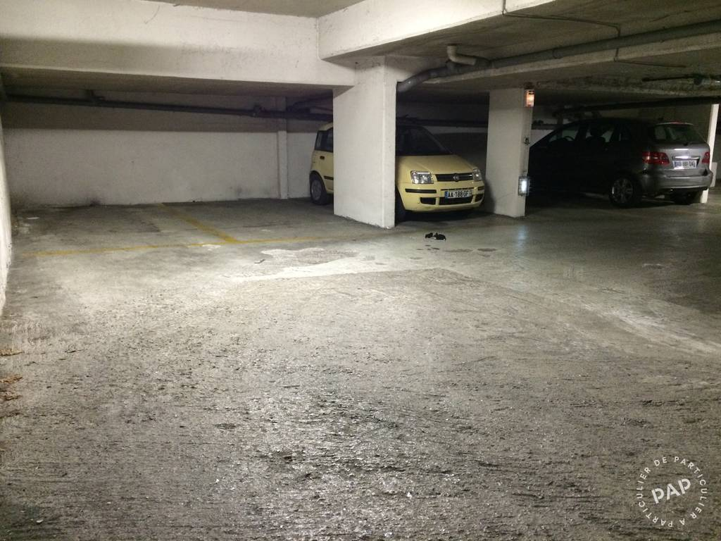 Location garage parking paris 20e 100 de for Location box garage particulier