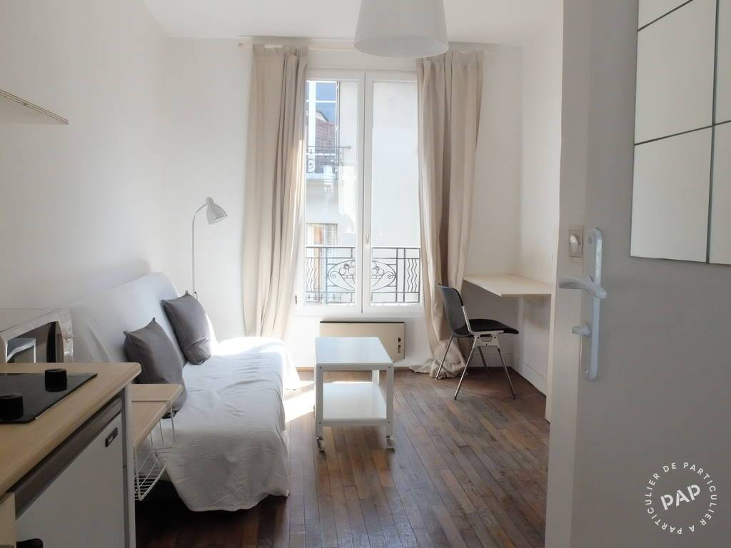 location appartement paris 19e 22m