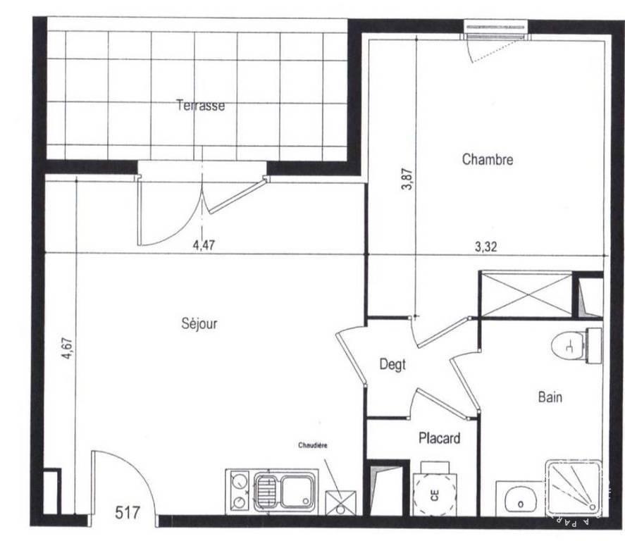Location appartement 2 pi ces 42 m castanet tolosan for Location garage castanet tolosan