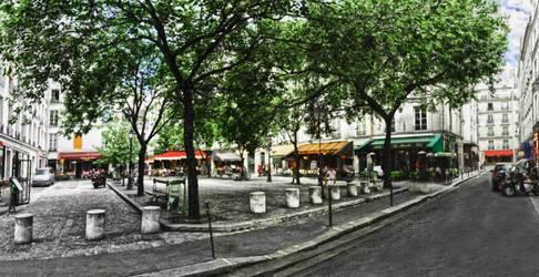 Location meublée studio 27m² Paris 4E - 1.129€