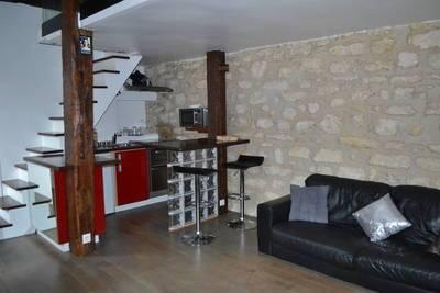 Location meublée appartement 2pièces 37m² Paris 4E - 1.390€