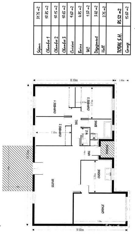 location maison 85 m toulouse 31 85 m 880 e de particulier particulier pap. Black Bedroom Furniture Sets. Home Design Ideas