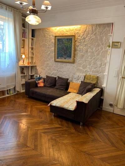 Location meublée appartement 3pièces 70m² Paris 16E - 1.889€