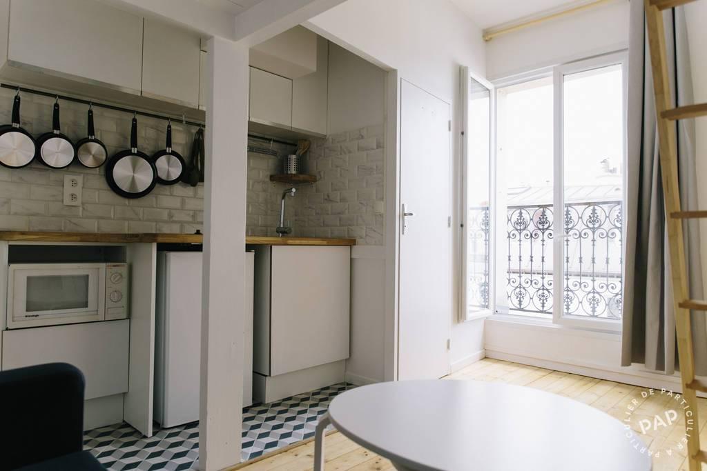 Location meubl e studio 17 m paris 18e 17 m 740 e for Location meuble paris 17 particulier