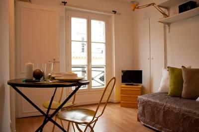 Location meubl�e appartement 2pi�ces 18m� Paris 1Er - 800€