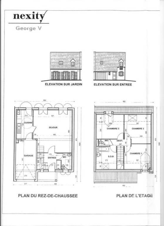 location maison 86 m chartres 28000 86 m 885 e de particulier particulier pap. Black Bedroom Furniture Sets. Home Design Ideas