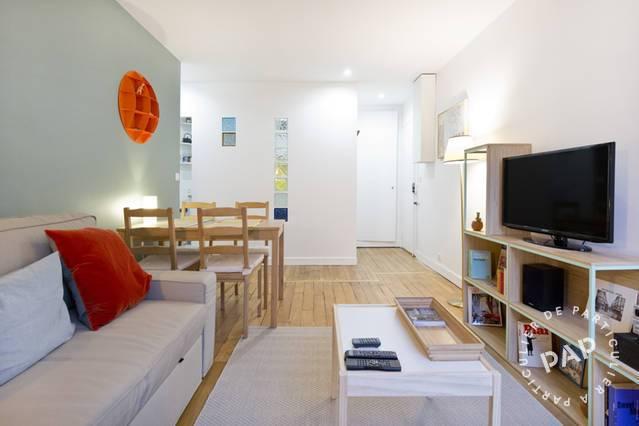 Location meubl e appartement 2 pi ces 40 m paris 18e 40 for Garage paris 18e