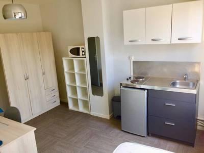 Location meublée studio 13m² Villeneuve-D'ascq (59) - 360€