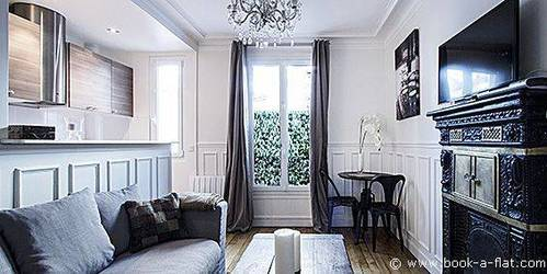 Location meubl�e appartement 2pi�ces 35m� Paris 16E - 1.500€